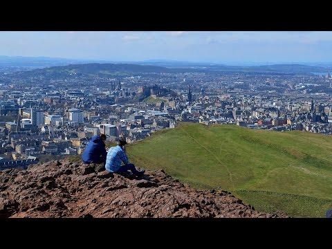 Edinburgh, Arthur's Seat Walk in 4K