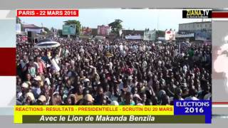 FAUX RESULTATS DU SCRUTIN DU 20/03/2016 : HENRI BOUKA MENT AU PEUPLE CONGOLAIS