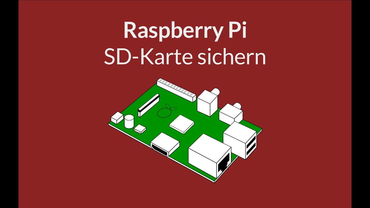 Raspberry Pi Sd Karte Sichern
