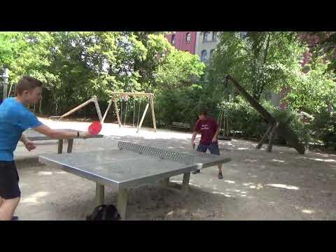 Tischtennis An Der Frauenschule Fuerth  Mit Den Steinb     An Der Steinplatte 20190619  36