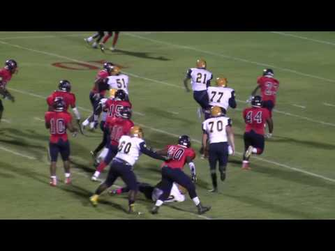 Rocky Mount High School Gryphons Football - Game Highlights vs. Southern Nash HS - 10/28/16
