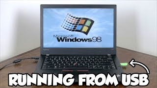 Installing Windows 98 on a Modern Laptop