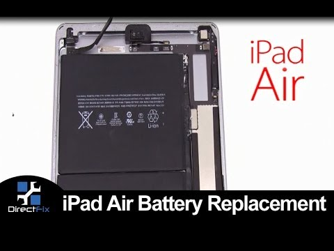 hqdefault how to ipad air battery replacement youtube  at panicattacktreatment.co
