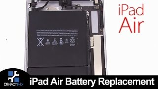 How To: iPad Air Battery Replacement