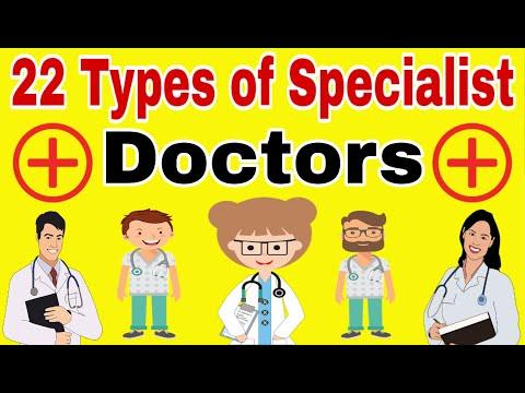 22 Types of Specialist Doctors | Types of Doctors | Doctors Specialist List in Hindi | Doctors