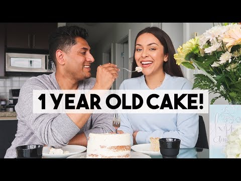 eating-our-wedding-cake-one-year-later---lifewithtrina