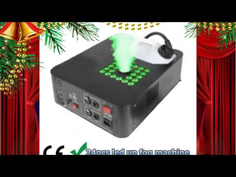 24pcs leds up fog machine