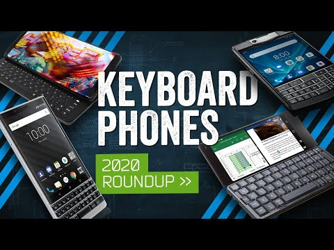 Keyboard Phones In 2020 The Qwerty Compromise Youtube