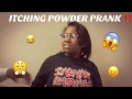 ITCHING POWDER PRANK ON GIRLFRIEND !!!! (GONE WRONG) 😱😤