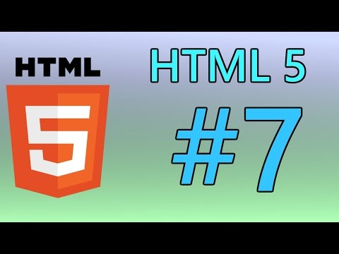 HTML5 Tutorial 7 - Forms & IFrames