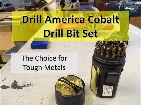 Drill America Cobalt Drill Bit Set Review