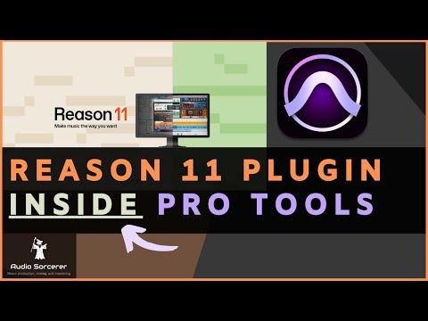 Reason 11 Inside Of Avid Pro Tools | First Look