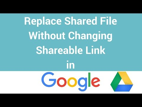 how to get link for sharing on google drive