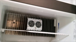 Auxiliary fans to keep your RV absorption refrigerator cold and temperature monitor