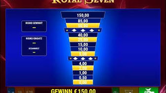 Royal Seven online spielen - Merkur Spielothek / Bally Wulff