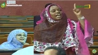 مشادات بين البرلمانيتين سودة وميمونة في جلسة حول التعذيب في السجون الموريتانية