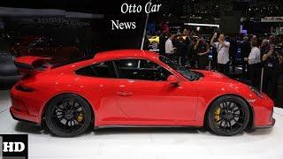 HOT NEWS !!!2018 Porsche 911 GT3 RS   A Clear   spec & price