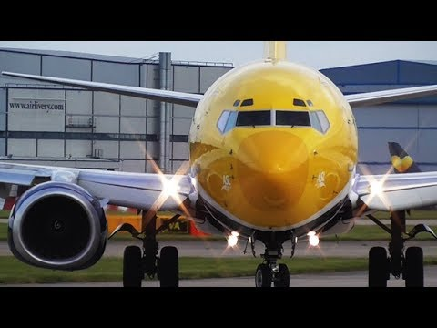Close-up Morning Departures at Manchester Airport | RWY23L & RWY23R | 01/06/2017