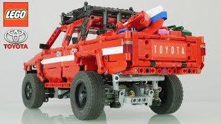 RC LEGO Technic TOYOTA HILUX 4-th GEN 1984 / with Sbrick