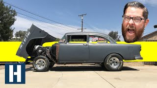 Giving Tri-Five by Fire Retribution After Kall Out Kings! '55 Chevy Gets Drag Ready