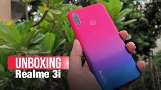 Realme 3i Marks Comeback of Diamond-Cut Pattern | Unboxing, Features, Price, Camera | ETPanache