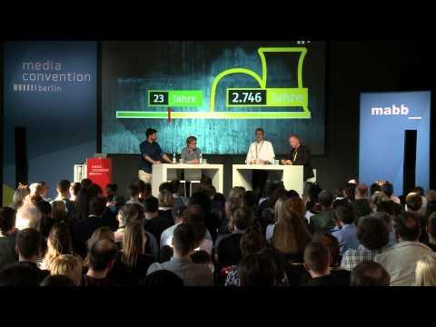 re:publica 2015 – Daniel Bröckerhoff, Clas Dammann: heute+ online: News mit dem anderen Blick im ZDF on YouTube