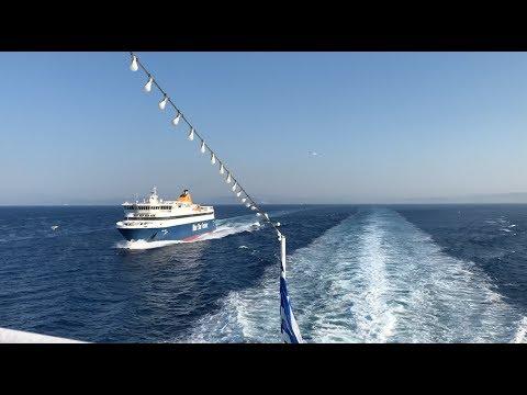 Greece Ferry Timelapse