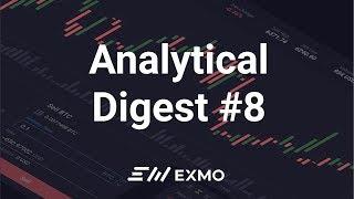 EXMO Analytical Digest #8 | Bitcoin ждет падение? Новости рынка криптовалют