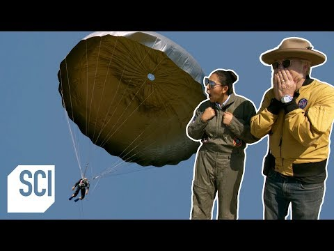 Will A Duct Tape Parachute Save Your Life? | MythBusters Jr.