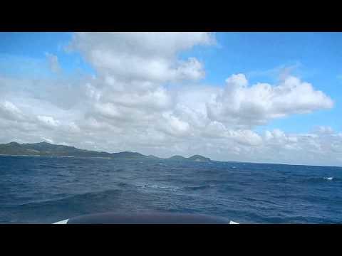 Zodiac ride in Mansalay seas, Or. Mindoro