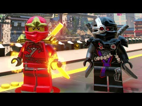 The LEGO Ninjago Movie Videogame - Ninjago City North 100% Guide (All Collectibles)