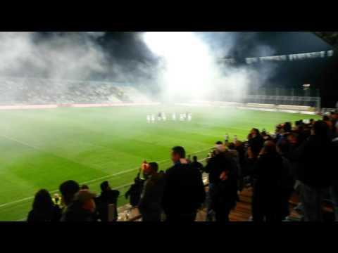 HNK Rijeka 3:0 NK Zagreb win celebration( part2)
