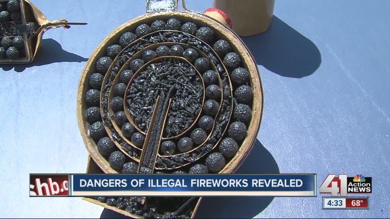 Dangers of illegal fireworks revealed