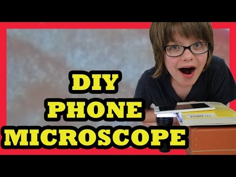 DIY Phone Camera Microscope - Science Sunday - Day 947 | ActOutGames