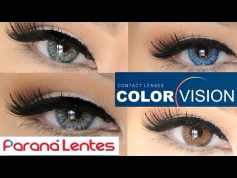 new paranalentes lens demo color vision youtube