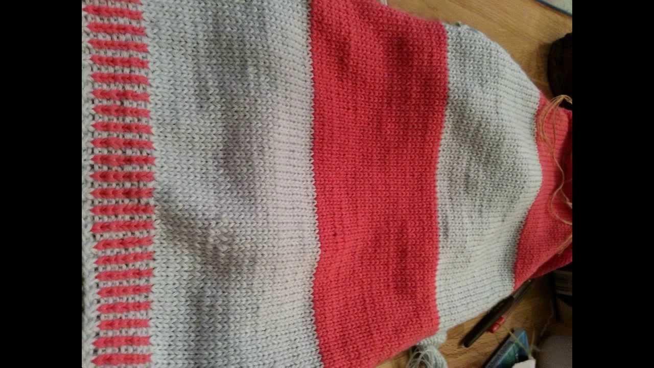 knit with landderfeen knitting children kinderpullover nach muster stricken youtube. Black Bedroom Furniture Sets. Home Design Ideas