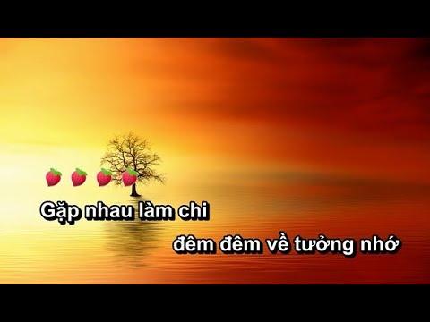 [Karaoke_Beat Chuẩn]  GẶP NHAU LÀM CHI | Đan Nguyên