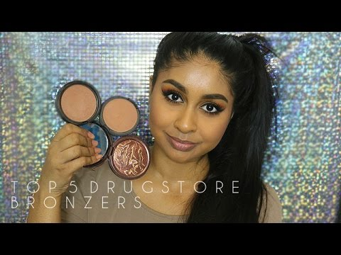 My Top 5 Drugstore Bronzers For Medium Deep Tan Brown