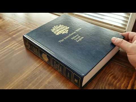 The Interlinear Bible, Hebrew/Greek/English (hardback) Review
