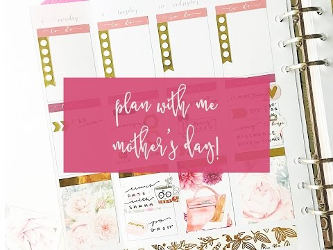Plan with me for Mother's Day!