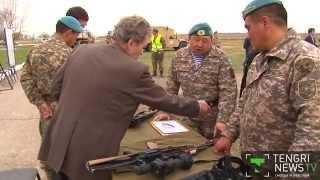 Ветераны взяли в руки легендарное оружие Великой Отечественной войны