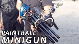 Paintball Minigun at SC Village