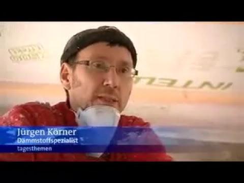 ARD Tagesthemen 10.11.2008: Wärmedämung mit Zellulose