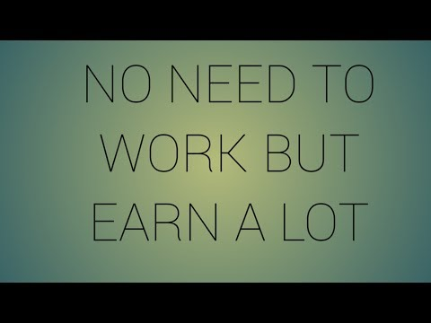 Don't work but earn money in tamil