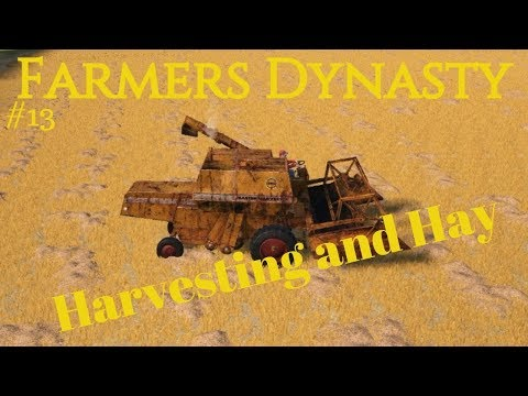 Farmers Dynasty | #13 | Harvesting | Hay Bales | Future Plans |