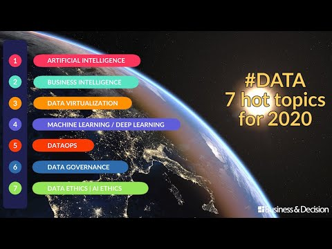 #Data: 7 hot topics for 2020 - The full video