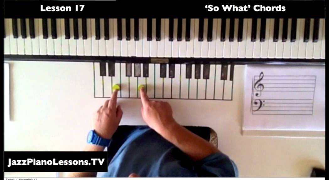 How To Play So What Chords Youtube