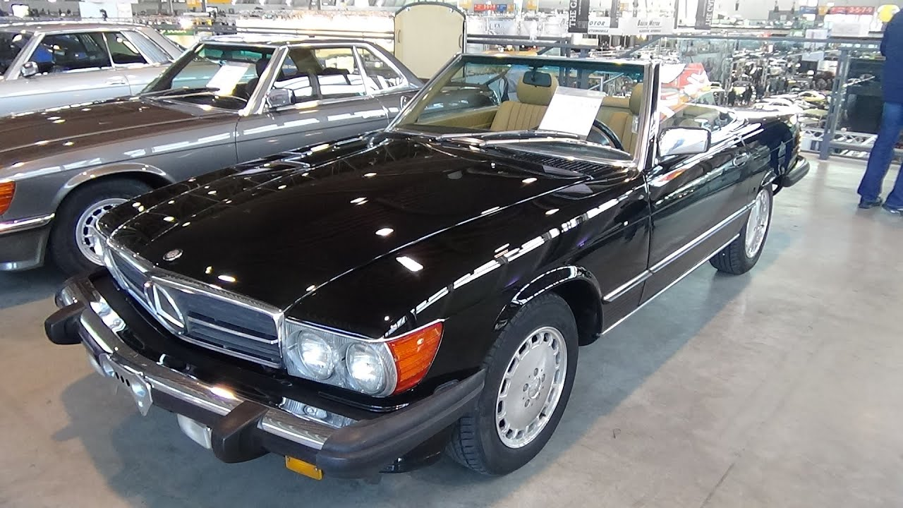 1987 mercedes benz 560 sl exterior and interior. Black Bedroom Furniture Sets. Home Design Ideas