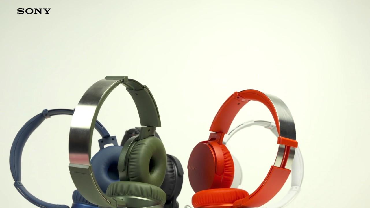 Słuchawki SONY MDR XB550AP Niebieski