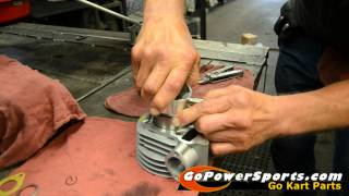Installing the 150cc Go Kart Engine Rebuild Kit